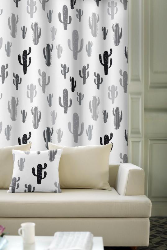 dekorační látka - kaktus