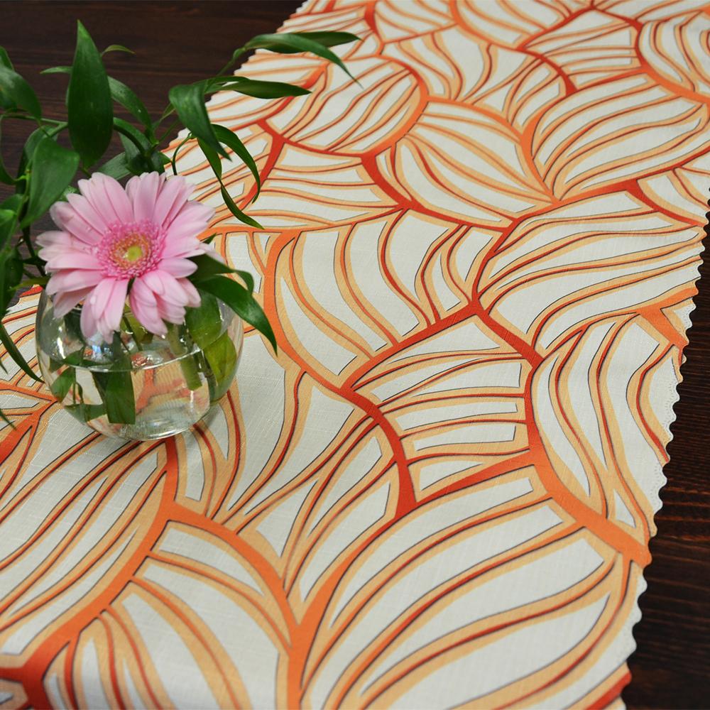 oranžový ubrusová šála