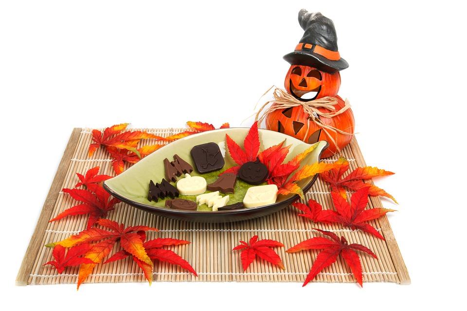 sladkosti na halloween