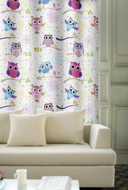 dekorační látka - sovičky