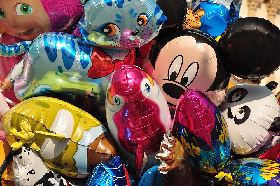 balonky na narozeninovou oslavu
