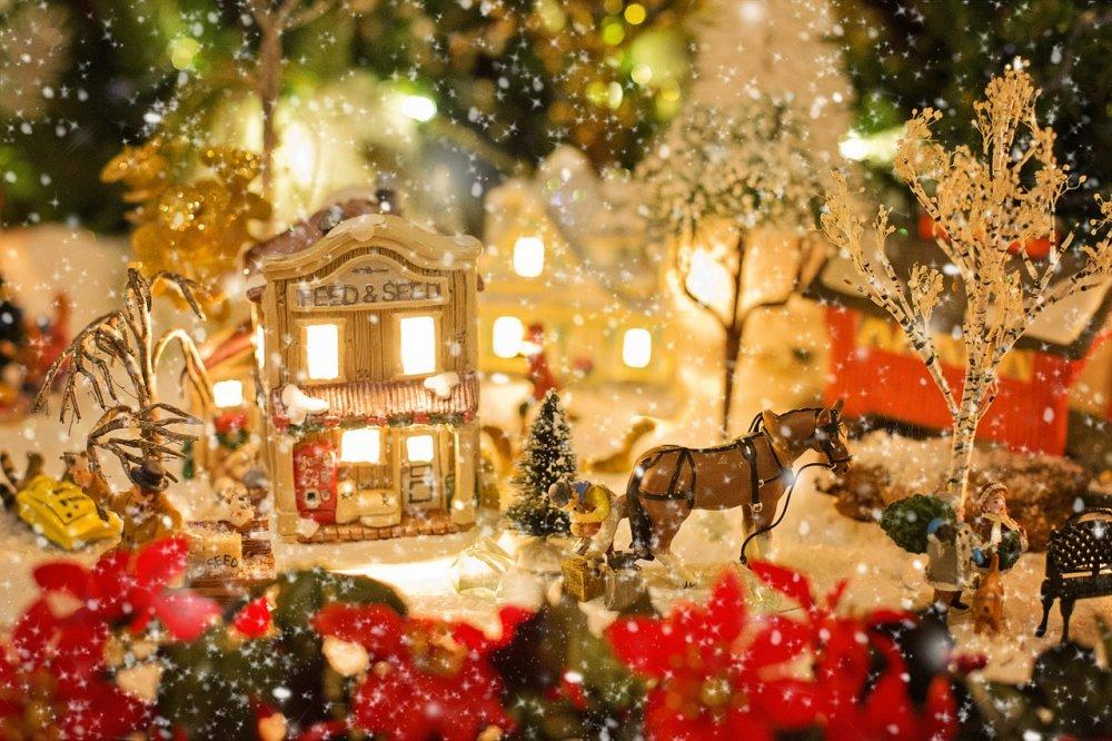 tradiční vánoční dekorace